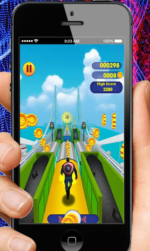 Captain Hero Subway Run Rush 2.0 screenshots 6