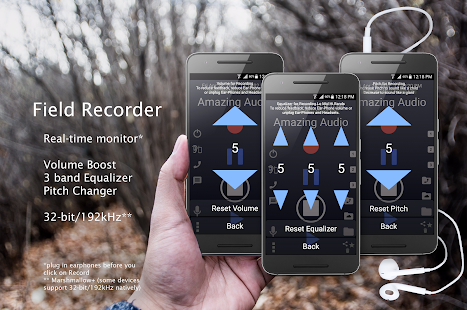 Hi-Res Audio Recorder Screenshot
