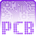 PCB Purple ⁞ CM12 Theme icon