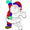 Christmas Color by Number - Pixel Paint Coloring