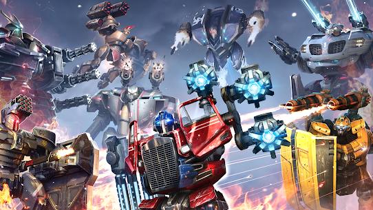 Robot Warfare Apk Mod Munição Infinita 5