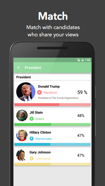 Voter- screenshot