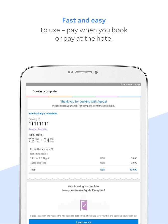 Agoda Hotel Booking Deals Screenshot