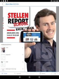 STELLENREPORT SCHOOL – Miniaturansicht des Screenshots