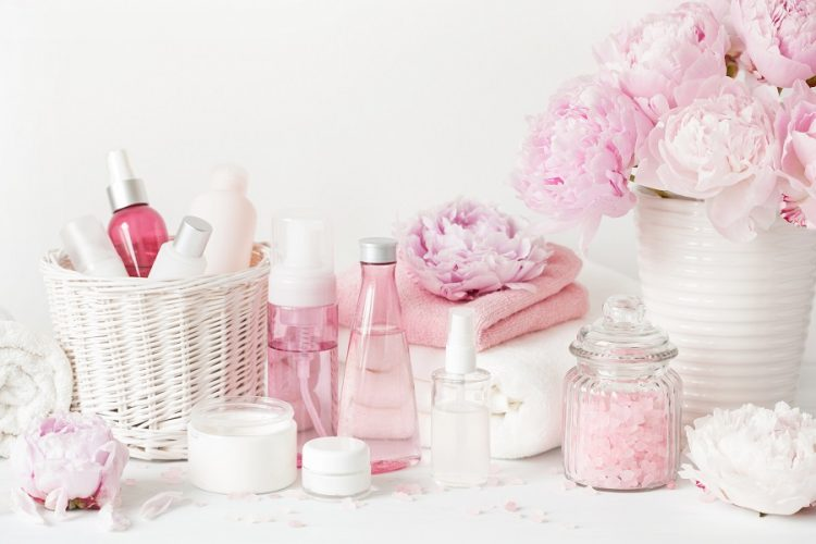 herbal beauty products used by women