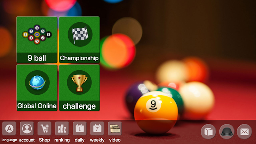 9 ball billiards Offline / Online pool free game 79.50 screenshots 1