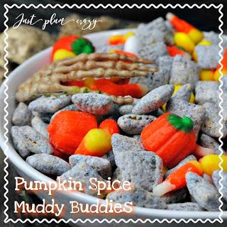 Pumpkin Spice Muddy Buddies.
