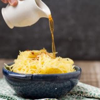 Parmesan Garlic Brown Butter Spaghetti Squash.