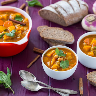 Autumn Vegetable Stew.