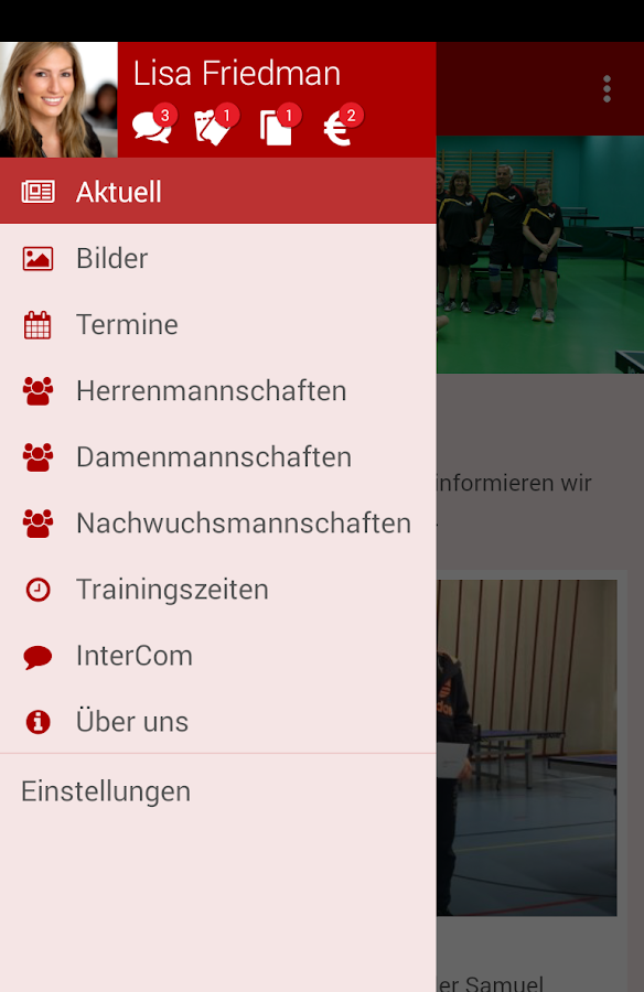 TTC Bern – Screenshot