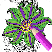 Adult Coloring Book:Pigment