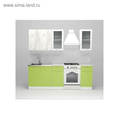 Кухонный гарнитур Юлиана стандарт, 1600 мм