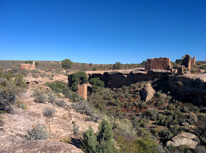 Photo: We camped at Hovenweep Nat'l Monument and walked the loop trail the next morning