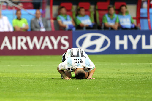 Lionel Messi of Argentina proved far from messianic for his side as he was unable to lead them beyond the round of 16 at the Fifa World Cup in Russia. /The Asahi Shimbun via Getty Images