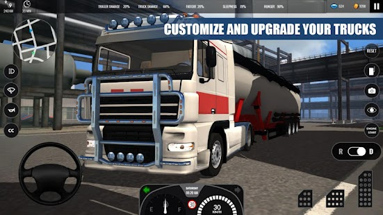 Truck Simulator PRO Europe- screenshot thumbnail