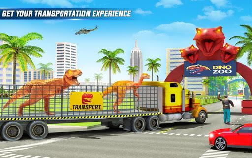 Angry Dino Zoo Transport: Animal Transport Truck 27 screenshots 8