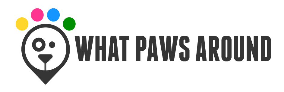 what paws around updated logo