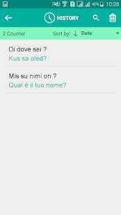 Estonian Italian Translator - náhled