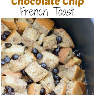 Ready Crock Pot Chocolate Chip French Toast