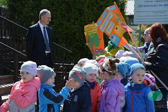 Photo: Przedszkolaki z wizytą u Burmistrza Gminy Słomniki  w Światowym Dniu Ziemi