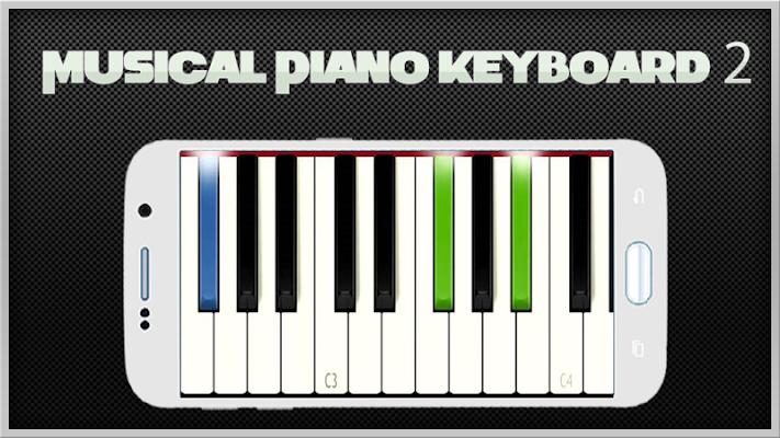 Musical Piano Keyboard 2 - screenshot