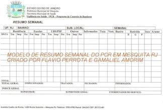 Photo: RESUMO SEMANAL DO PCR - Programa de Controle de Roedores em Mesquita RJ