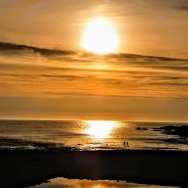 Sunset  by Ian Popple - Uncategorized All Uncategorized ( sunset * water * cornwall * summertime * sky, sunset * water, sunset, sunset < )