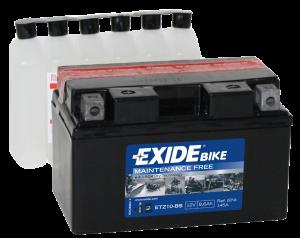 udor Exide MC batteri 8,6Ah AGM ET210-BS