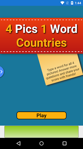 4 Pics 1 Word Countries