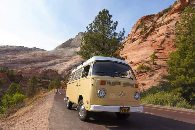 1978 VW bus Westfalia Hire Huntington Beach