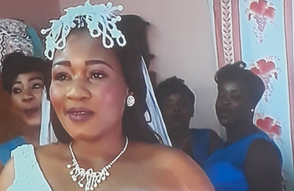 Pretty and Kenny tied the knot on OPW.