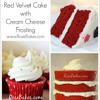 Red Velvet Cake with Cream Cheese Buttercream