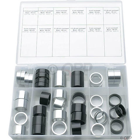 Wheels MFG Tall Stack Spacer Kit 10-40mm 40 Pieces