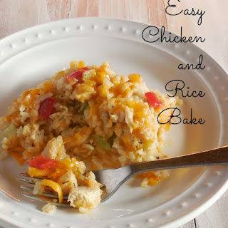 Easy Chicken and Rice Bake
