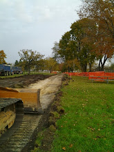Photo: Path Grading 10-29-2013