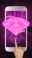screenshot of Pink Diamond Love 3D Theme