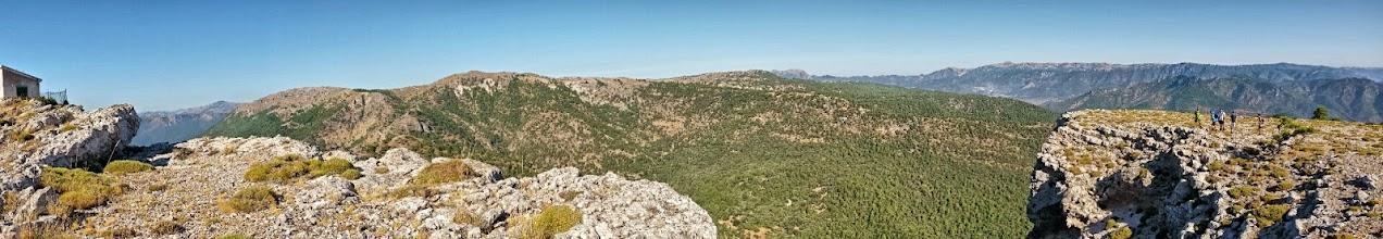 Photo: Vista panorámica desde el punto más alto