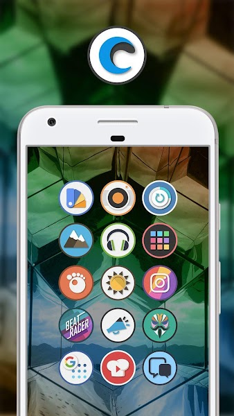 Circly - Round Icon Pack Screenshot Image