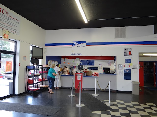 Statesville, NC: downtown post office / CPU