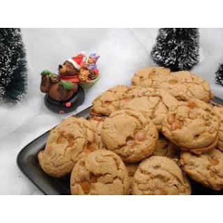Caramel Raisin Spice Cookies.