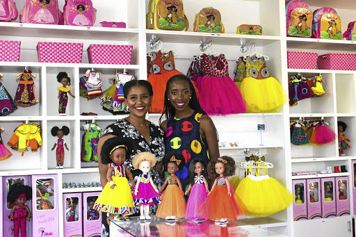 The creators behind Sibahle brand are Caroline Hlahla and Khulile Vilakazi-Ofosu.