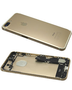 iPhone 7 Plus Housing with small parts Original Pulled Gold