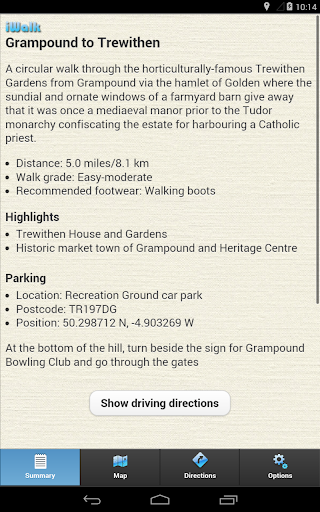 玩免費旅遊APP|下載iWalk Grampound to Trewithen app不用錢|硬是要APP