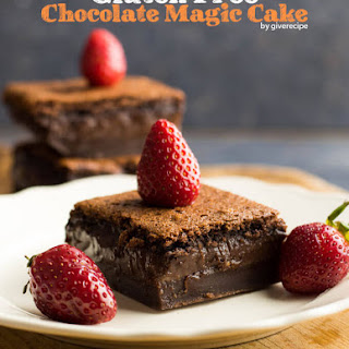 Gluten-Free Chocolate Magic Custard Cake Recipe