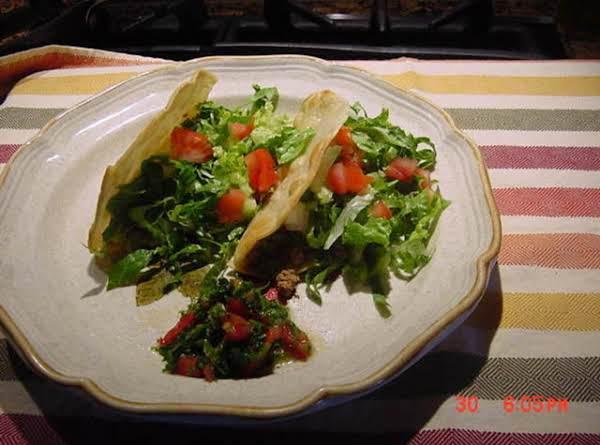 Bonnie's Turkey Tacos