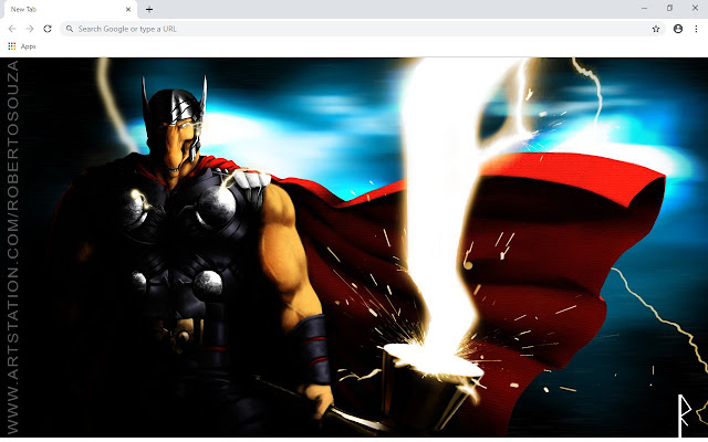 Beta Ray Bill New Tab & Wallpapers Collection