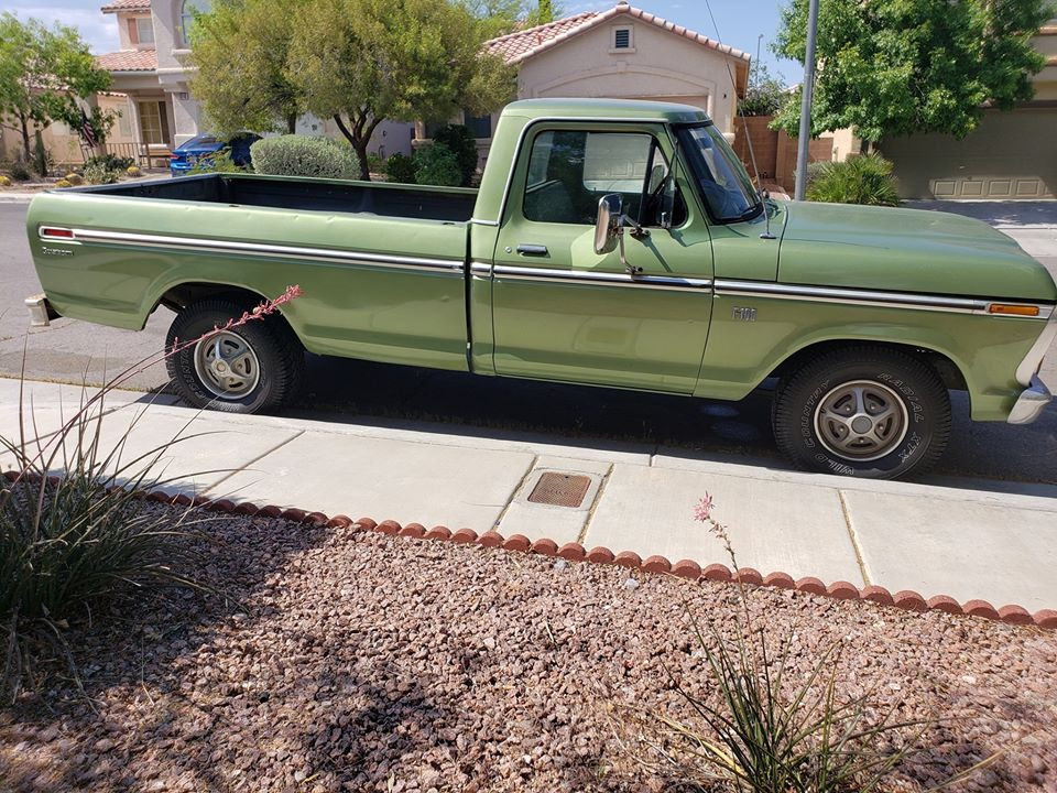 Ford F100 Hire Las Vegas