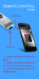 Remote Controller Testing Screenshot