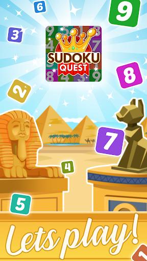 Sudoku Quest gratuit  captures d'écran 1