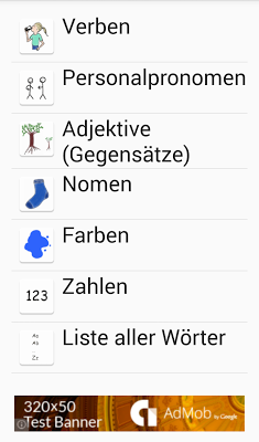 Sag mal - learn German - screenshot